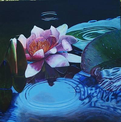 Ripples Art Print by Joan Cookson