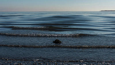 Photograph - Ripples Little Egg Harbor New Jersey by Terry DeLuco