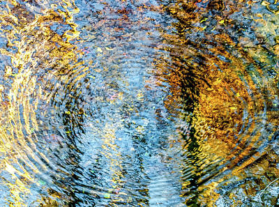 Photograph - Ripples by Wayne King