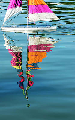 Photograph - Rippling Reflections by Lynn Palmer