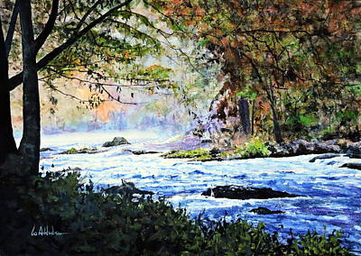 Painting - Rippling Waters by Bill Hudson