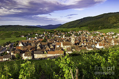 Riquewihr Morning Art Print by Brian Jannsen