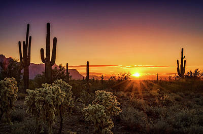 Photograph - Rise And Shine Arizona  by Saija Lehtonen