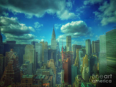 Photograph - Rise And Shine - Chrysler Building New York by Miriam Danar