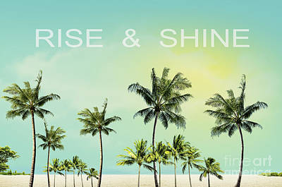 Shine Photograph - Rise And  Shine by Mark Ashkenazi