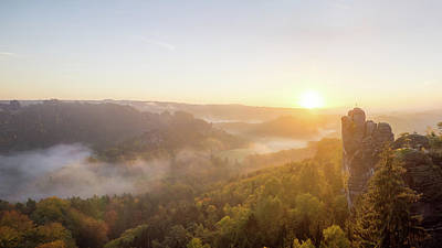 Switzerland Photograph - Rise And Shine by Michael Weber