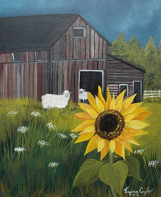 Painting - Rise And Shine by Virginia Coyle