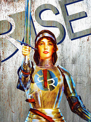Painting - Rise Empower by Tony Rubino