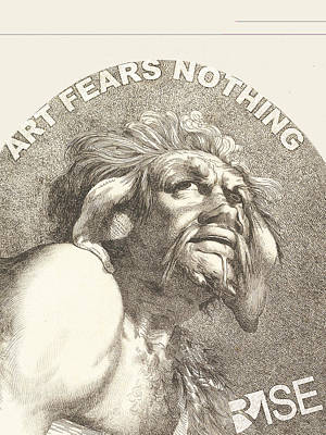 Painting - Rise Fear Nothing by Tony Rubino
