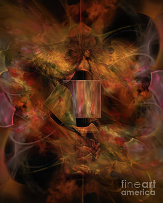 Digital Art - Rise Like A Phoenix by Olga Hamilton