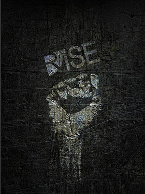 Mixed Media - Rise Power by Tony Rubino