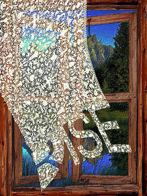Mixed Media - Rise Window by Tony Rubino