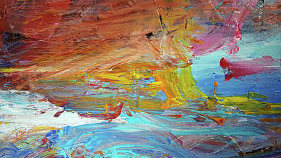 Painting - Rise With Optimism by Deb Breton