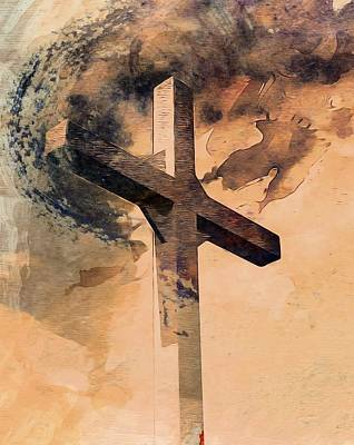 Mixed Media - Risen  by Aaron Berg