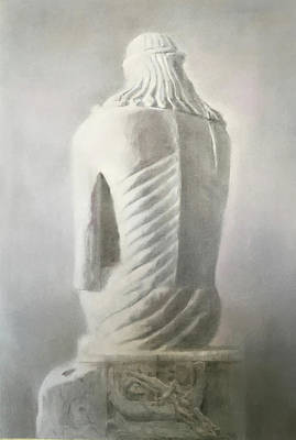 Drawing - Risen Christ II by Paez ANTONIO