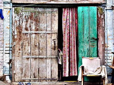 Rishikesh Door Art Print by Derek Selander