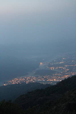 Puja Photograph - Rishikesh From Above by Jennifer Mazzucco