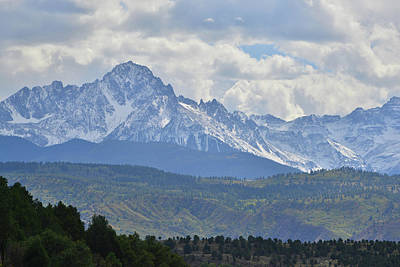 Photograph - Rising Above Ridgway by Ray Mathis