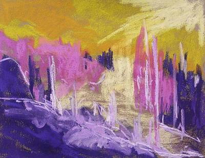 Jmwportfolio Painting - Rising Against Yellow by John Williams