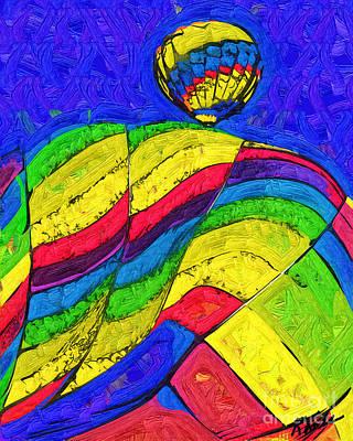 Digital Art - Rising Behind by Kirt Tisdale