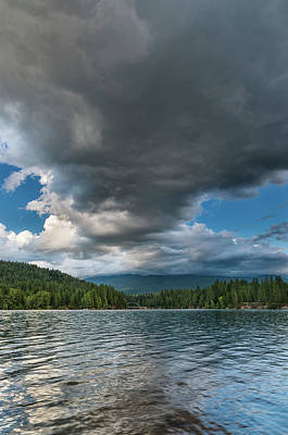 Photograph - Rising Cloud Above Siskiyou by Greg Nyquist