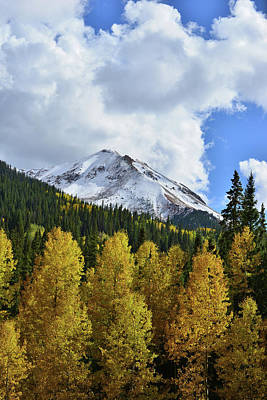 Photograph - Rising Clouds Over Red Mountain by Ray Mathis