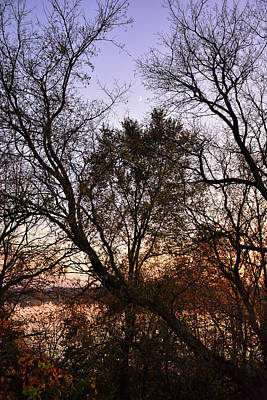 Photograph - Rising Crescent In Autumn by Robert Meyers-Lussier
