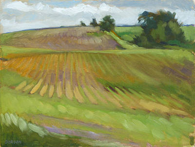 Painting - Rising Fields by Kim Gordon