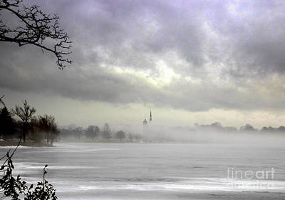 Photograph - Rising From The  Mist by Lennie Malvone