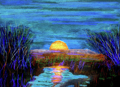 Painting - Rising In The Blue by R Kyllo