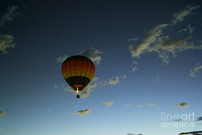 Photograph - Rising In The Dawn Sky by Jeff Swan