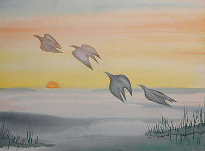 Painting - Rising by Michele Myers