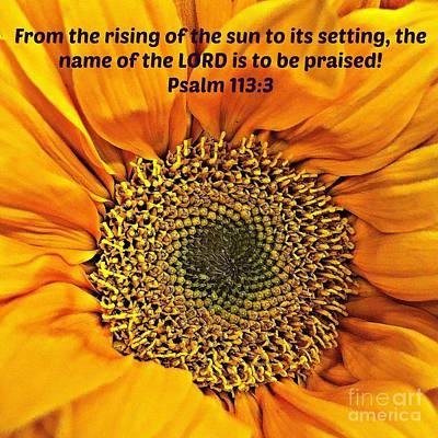 Rising Of The Sun Art Print