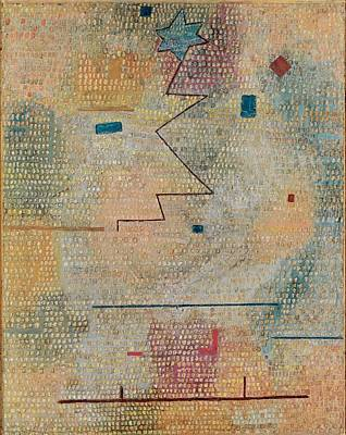 Rising Star  Art Print by Paul Klee