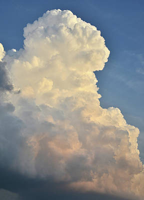 Photograph - Rising Thunderhead Over Mchenry Illinois by Ray Mathis