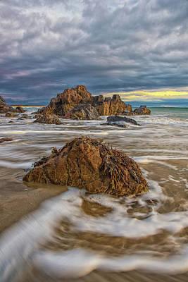 Photograph - Rising Tide At Marginal Way by Jesse MacDonald