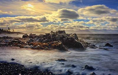 Nova Scotia Wall Art - Photograph - Rising Tide by Christine Sharp