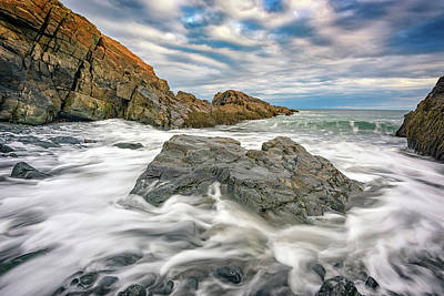 Photograph - Rising Tide In Ogunquit by Rick Berk