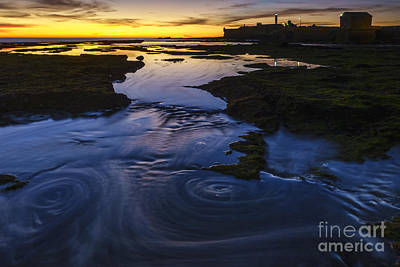 Photograph - Rising Tide On Saint Sebastian's Castle Cadiz Spain by Pablo Avanzini