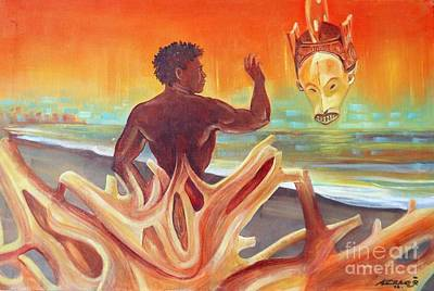 Rising Youth Seeks Ancient Wisdom Original by Arnold Grace