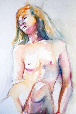 Painting - Rita #7 by Barbara Pease
