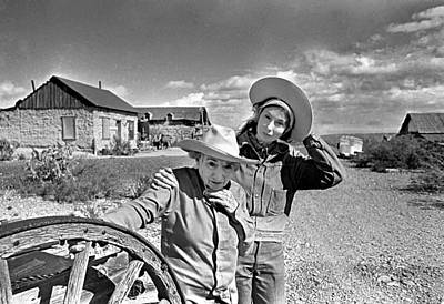 Cattle Drive Photograph - Rita And Janaloo by Buddy Mays