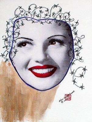 Satire Mixed Media - Rita Haywired by Arlene  Wright-Correll