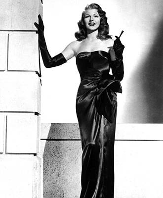 Rita Hayworth Art Print by American School