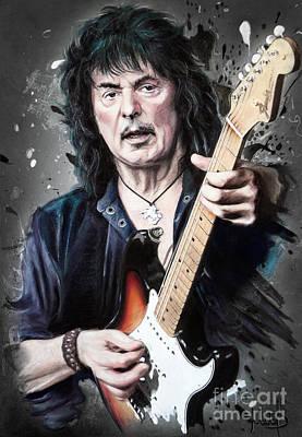 Ritchie Blackmore Original by Melanie D