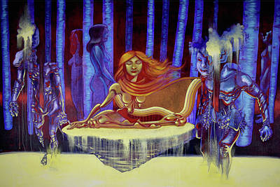 Painting - Rite Of Water by Carl Yonder