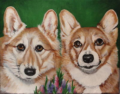 Painting - Rito And Rosco by Carol Russell