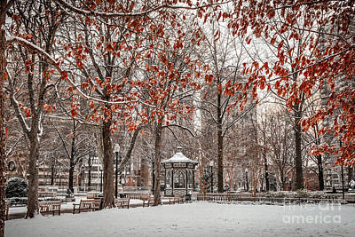 Rittenhouse Snowscape Art Print