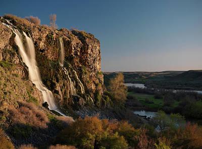 Ritter Park Photograph - Ritter Falls by Leland D Howard