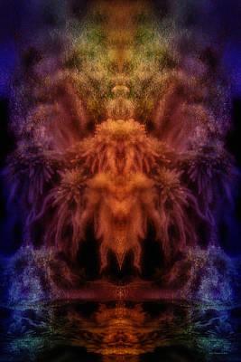 Digital Art - Ritual Dance by WB Johnston